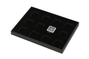 黑色12格小裸石盤盒