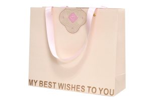 設計案例1-婚禮手提緞帶紙袋
