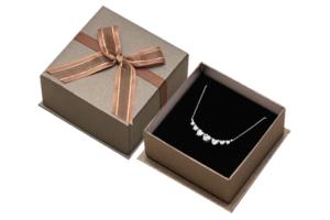 悸動大墜盒黑色-珠寶盒可客製LOGO