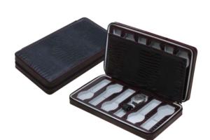 蜥蜴紋皮革收藏錶盒