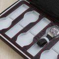 蜥蜴紋皮革收藏錶盒2
